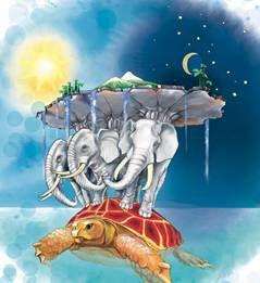 Индийское представление глобуса