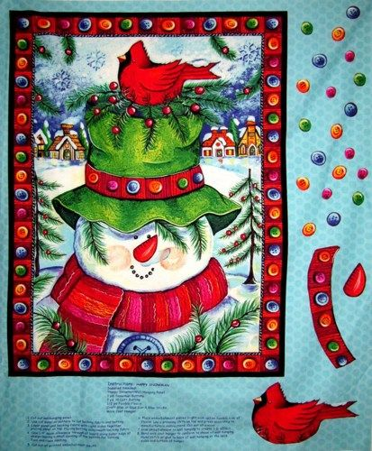 89 best Quilt Panels images on Pinterest | At home, Crafts and ... : christmas quilting panels - Adamdwight.com