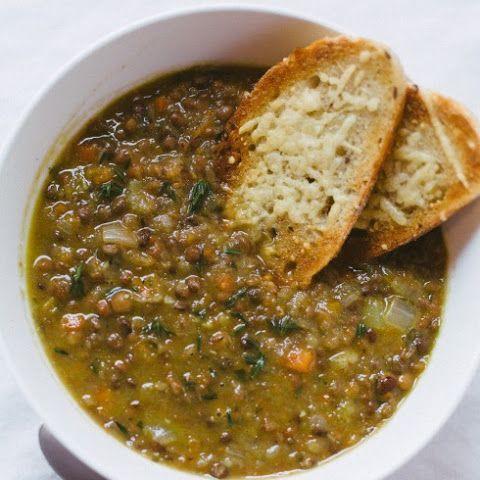 Alton Brown's Lentil Soup