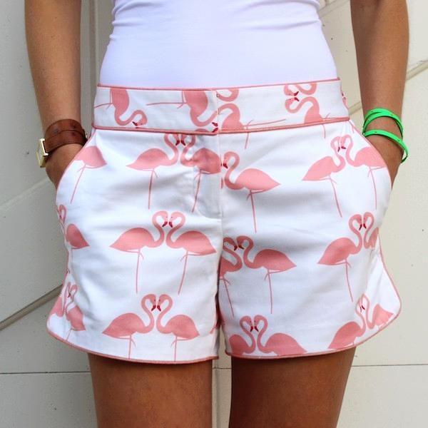 Elizabeth McKay Pink Flamingo Hayden Short