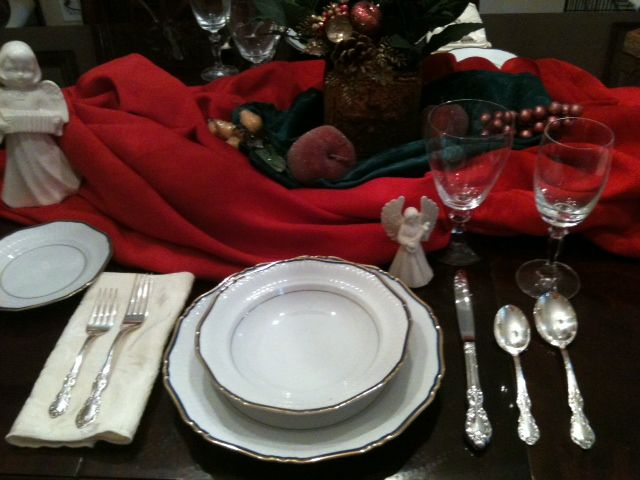 Why Set a Proper Table Setting? It's Just the In-Laws for Dinner!