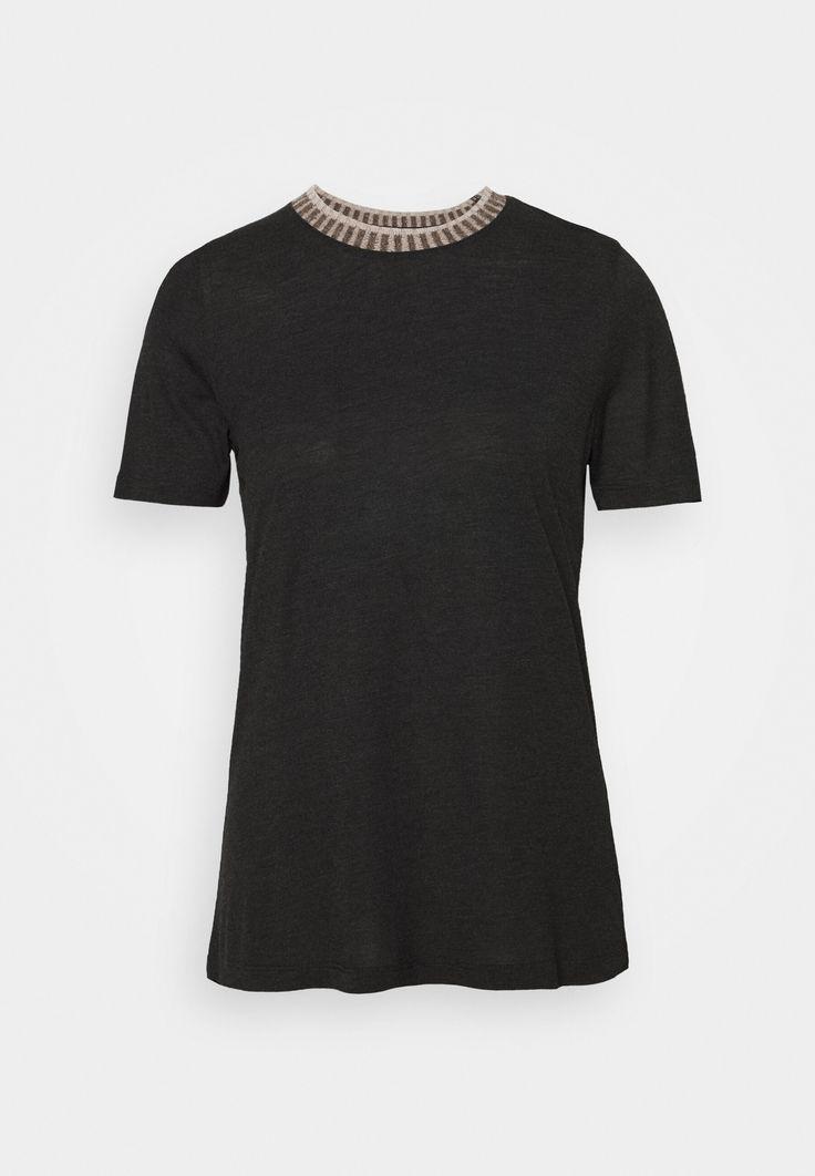 ftc cashmere t shirt print grey grau zalando de in 2020 shirts