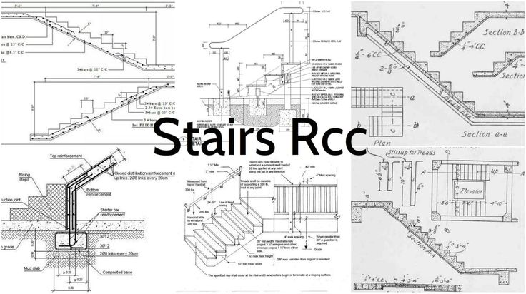Best All The Important Details For Stairs Rcc Stair Detail 400 x 300