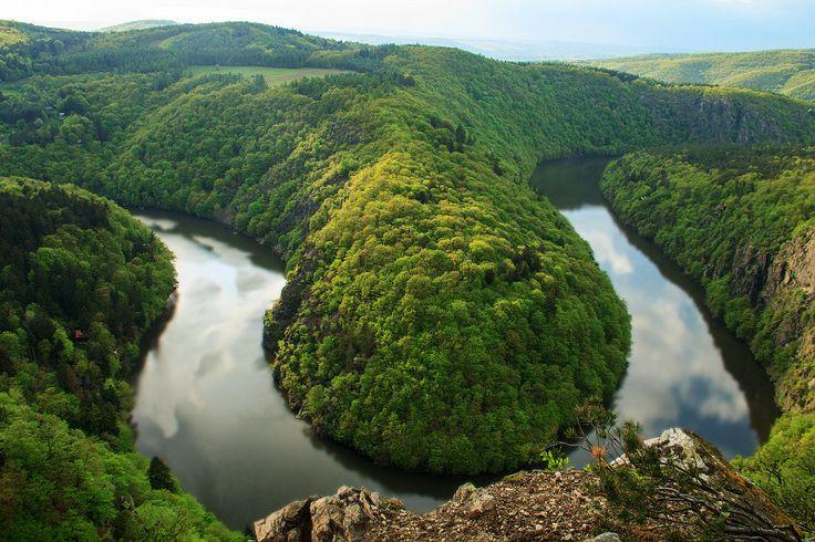 Meander of Vltava by Martin Hofhanzl on 500px