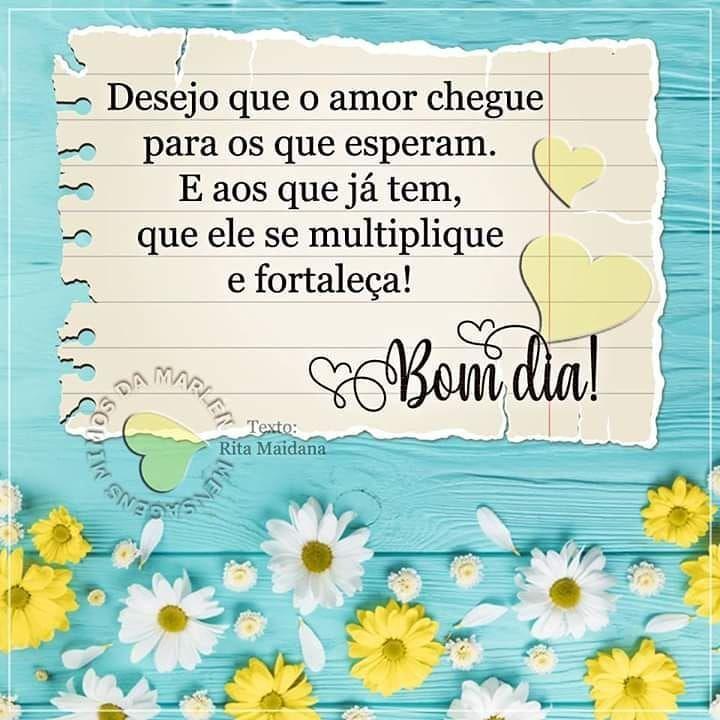 Bomdia Amor Esperanca Paz Gratidao Deus Diasmelhores Fe