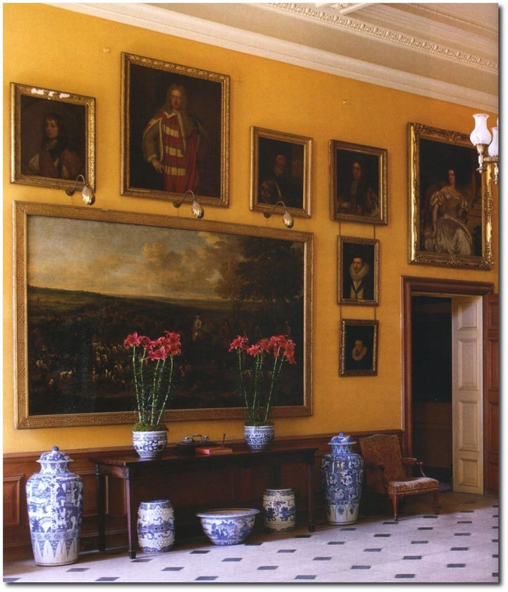 Best English Country Houses Images On Pinterest English - Country house interior paint colors