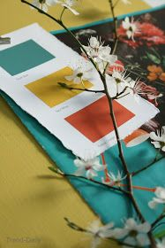 interiors styling, moodboards, colours, fabrics,wallpapers, vintage, flowers and design
