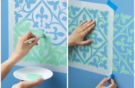 Wandgestaltung: Orientalische Muster wie aus 1001 Nacht - Wohnen & Garten