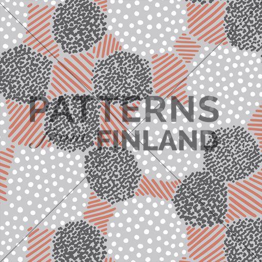 Garden – Odotus by Ammi Lahtinen  #patternsfromagency #patternsfromfinland #pattern #patterndesign #surfacedesign #ammilahtinen
