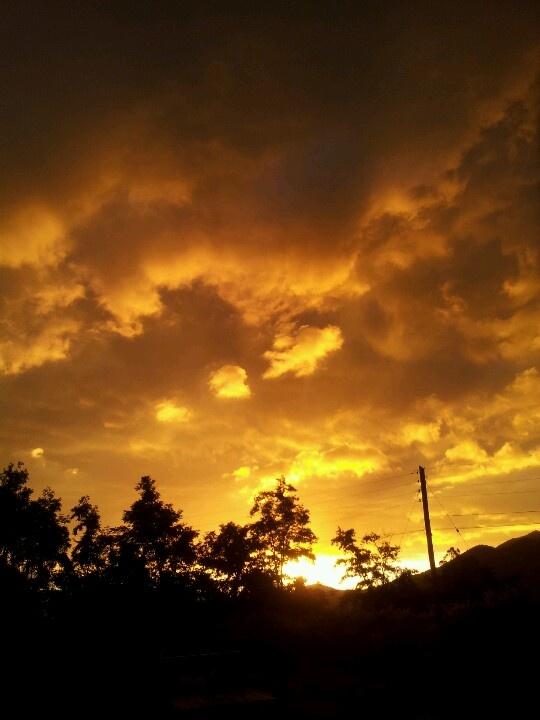Asi esta el cielo en Buin