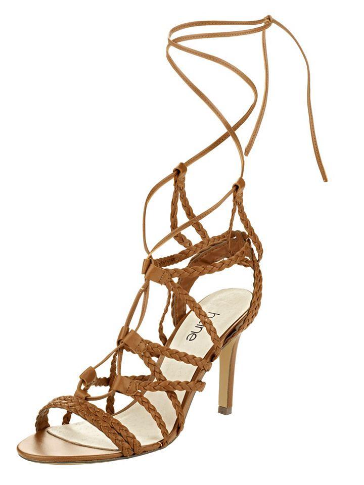 #Heine #High #Heel #Schnür #Sandalette,   #36,37,38,39,40,41,42, #04897012041000