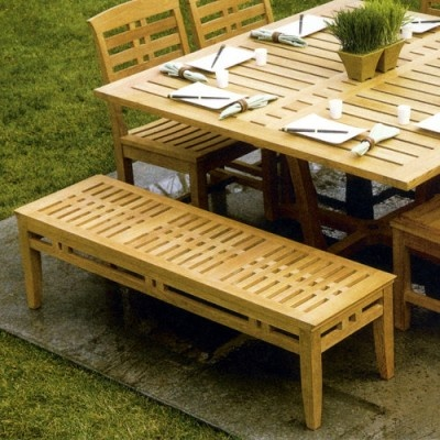 Mandalay Teak 5 Backless Bench Outdoorbenches Outdoorbench Benches By Http Outdoor Dining Roomsdining Chairsdining