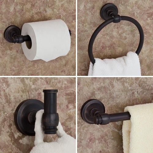 Rome 4 Piece Bathroom Accessory Set