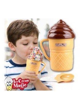 Ατομική Παγωτομηχανή για Απίθανα Παγωτά σε 3 λεπτά!