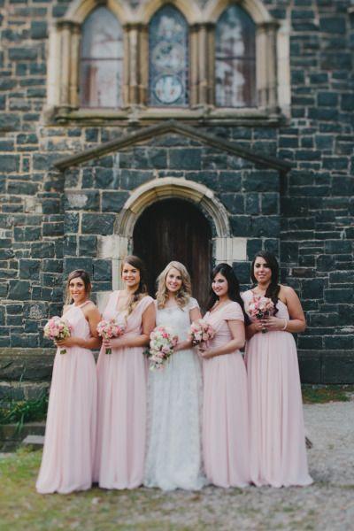 Blush pink: http://www.stylemepretty.com/australia-weddings/2014/06/11/classic-vintage-chic-wedding-at-montsalvat/ | Photography: Luma Photo - http://luma-wedding-photography.com.au/