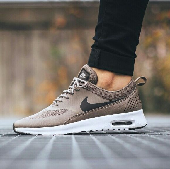 Nike Air Max Thea Beige Tan NO Trades NO Swaps Selling Only  Brand New, With Box Size 9.5  OTHER SIZES AVAILABLE 5-9.5  related: roshe run flyknit yeezy desert camo kylie jenner Nike Shoes Sneakers
