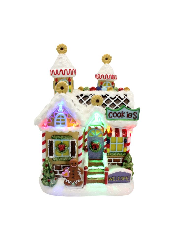 A Loja do Gato Preto | Casa com Luz Cookie House #alojadogatopreto