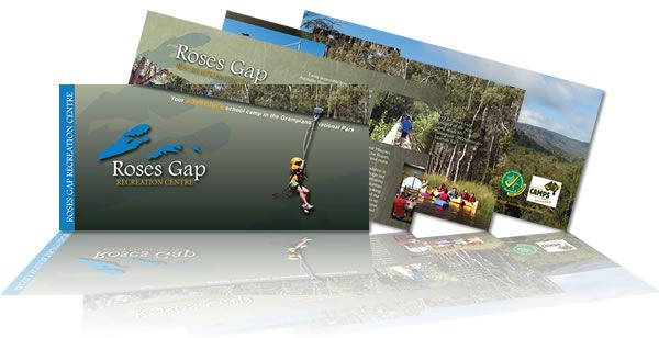 Roses Gap Recreation Centre Brochures. Layout & design by Phunkemedia Web & Graphic Design www.phunkemedia.com