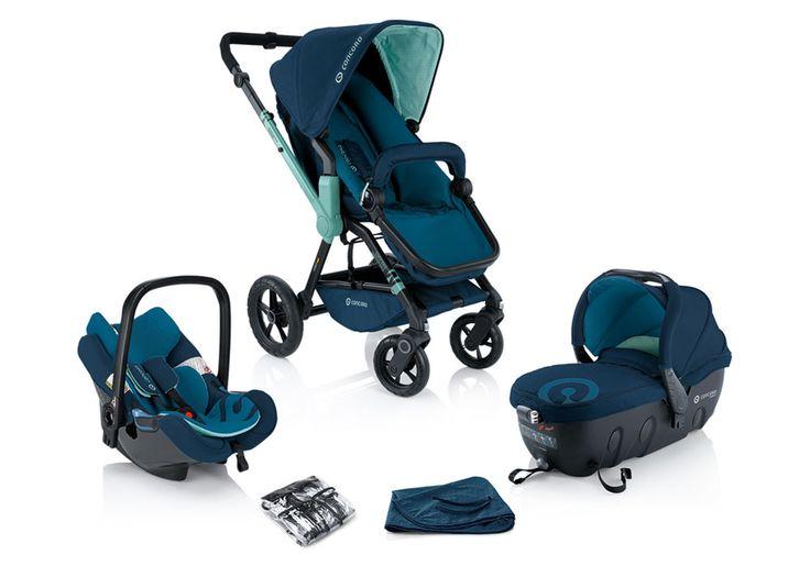 O conjunto WANDERER TRAVEL-SET engloba o carrinho de passeio #CONCORD WANDERER, a alcofa #CONCORD SLEEPER 2.0 e o porta bebés #CONCORD AIR.SAFE. Graças ao adaptador doTRAVEL SYSTEM (TS), a alcofa #CONCORD SLEEPER 2.0 e a cadeira auto #CONCORD AIR.SAFE podem ser colocadas no carrinho de passeio apenas com uma mão. Disponível em 6 cores.
