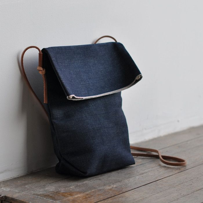 FIELD BAG - indigo denim by Bookhou