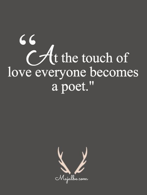 How Love Is Poetic Love Quotes