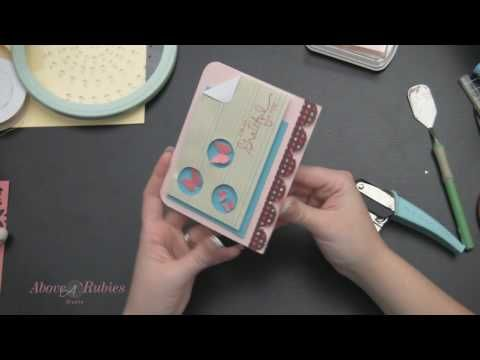 How To Make a  3D Popped Up Window Card with Punches