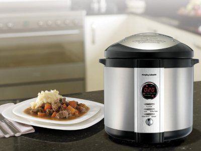 WIN a Morphy Richards Digital Pressure Cooker worth $199!
