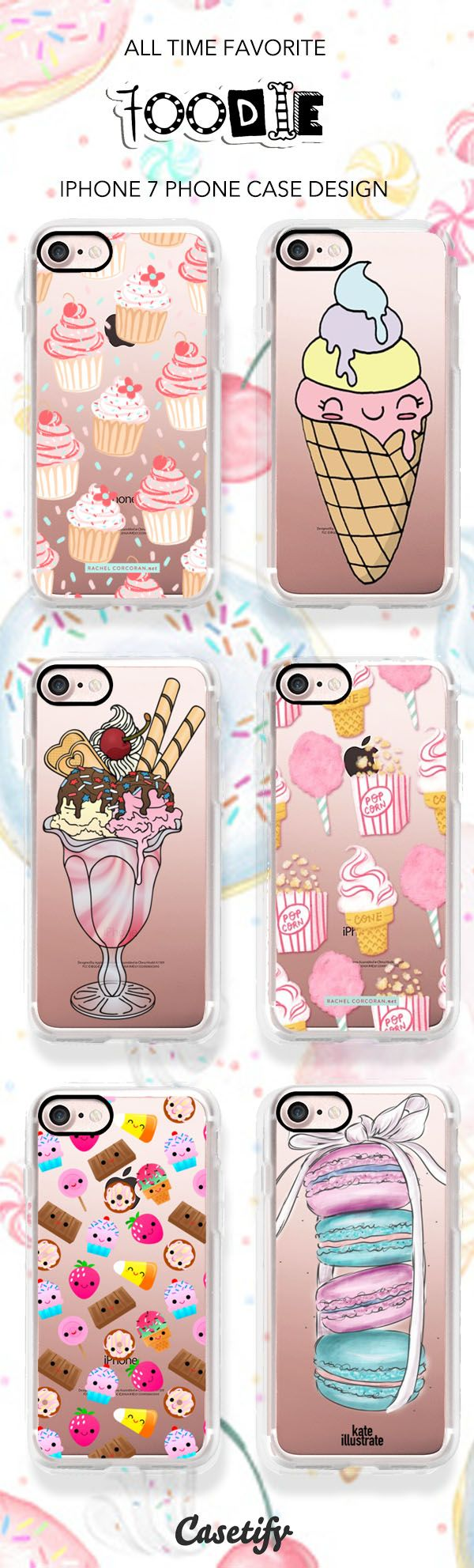 We got that sweet tooth, check these all time favourite iPhone case designs here > https://www.casetify.com/artworks/wXPnVktSk3 all available in iPhone 6 case, iPhone 7 case and iPhone 7 Plus Case