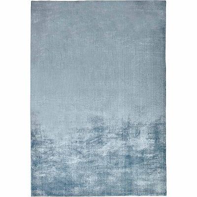 Unique, elegant and high quality 'Shiny blue' rug