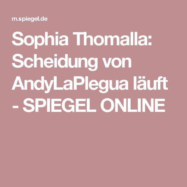 Sophia Thomalla: Scheidung von AndyLaPlegua läuft - SPIEGEL ONLINE