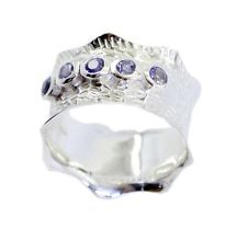 hot Iolite 925 Sterling Silver Blue Ring wholesales US 6789