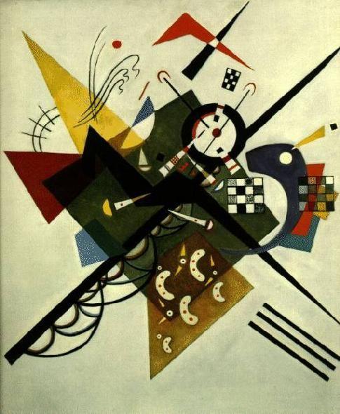 Sobre el blanco II, 1923. Kandinsky
