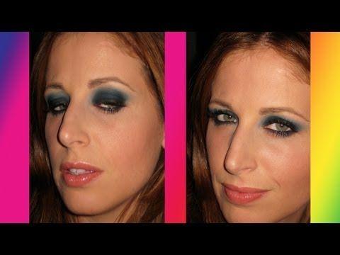 Makeup tutorial Trucco Smoky Facile e Sexy solo con 1 colore - YouTube