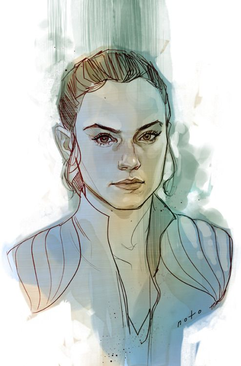 Rey: The Scavenger by Phil Noto
