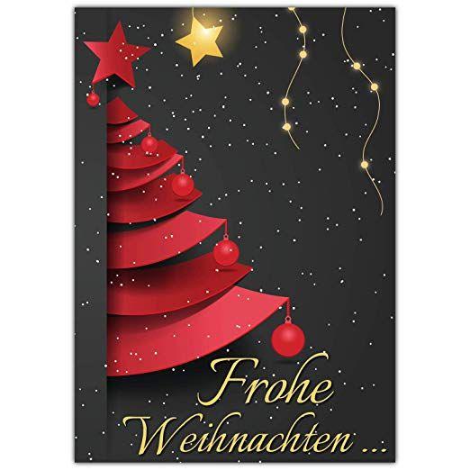 Wie Schreibe Ich Weihnachtsgrüße.Affiliate A4 Xxl Weihnachtskarte Weihnachtsbaum Mit Umschlag Edle
