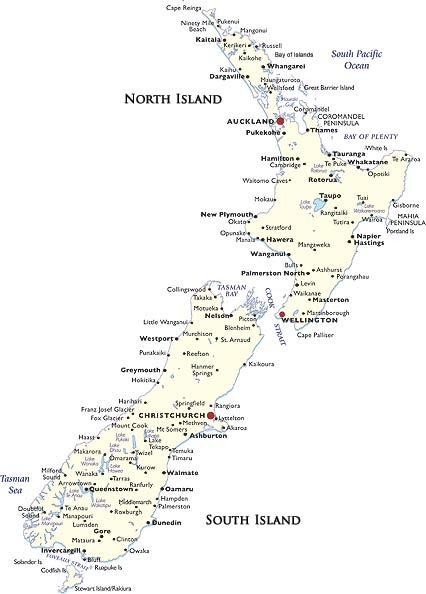 Printable Map Of South Island New Zealand.I Grew Up In A Town Called Whakapara Where I Grew Up In 2019