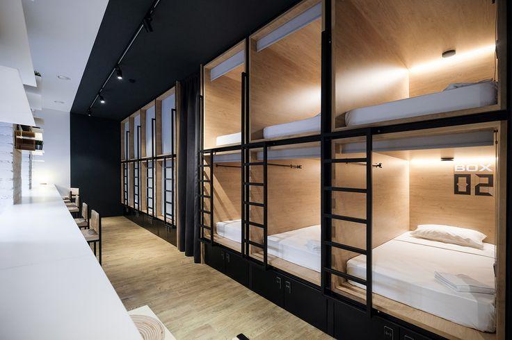IN BOX Capsule Hotel | abduzeedo.com