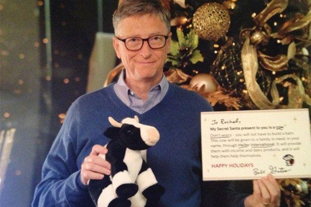 Bill Gates is Santa for one lucky Reddit user