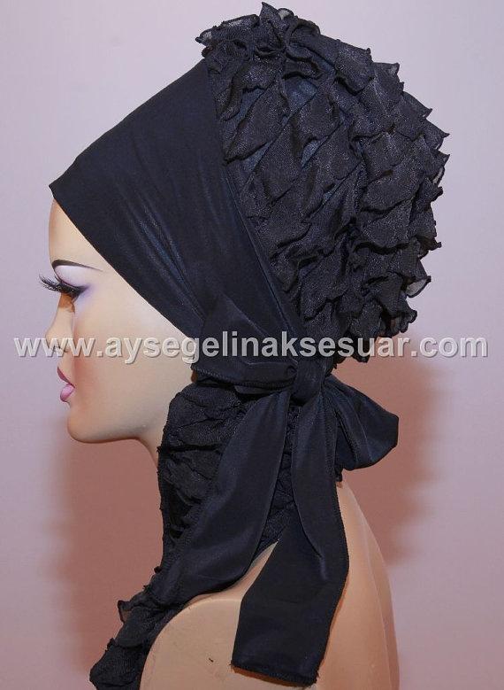 Ready To Wear Hijab  Code HT0046 by aishasbridal on Etsy, $11.50