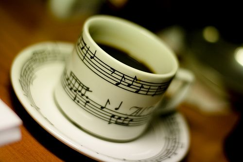 oh, I love it - musical coffee!!