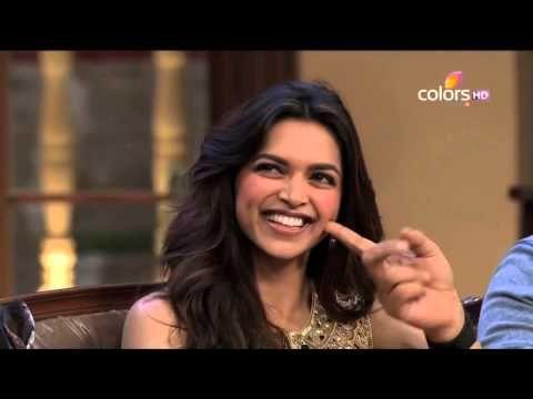 Shahrukh Khan & Rohit Shetty poke Deepika's dimples | Kapil Sharma Video Website