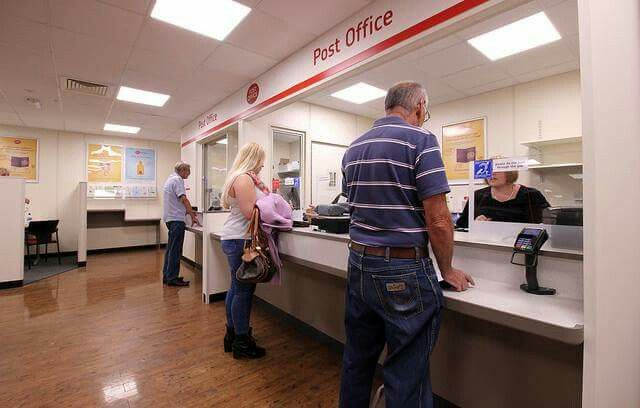 Highworth post office opens in the Cooperative supermarket store.