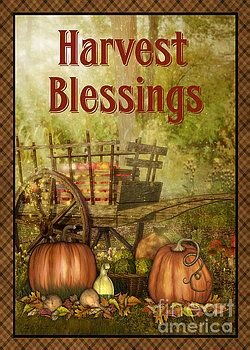 Harvest Blessings-JP3130-REC by Jean Plout