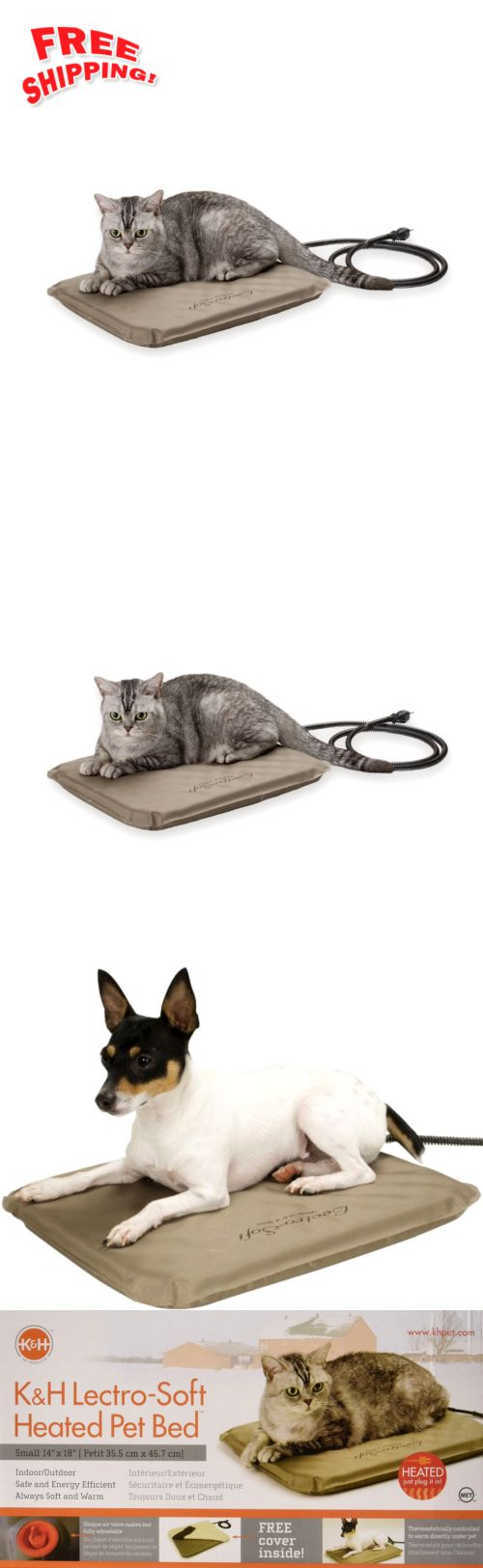 Animals Dog: Small Pet Heating Pad Indoor Outdoor Heated Cat Dog Bed Kennel Doghouse Heater -> BUY IT NOW ONLY: $37.72 on eBay!