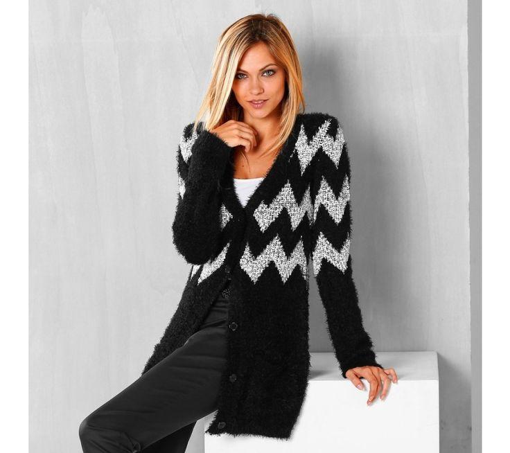 Jemný žakárový sveter | blancheporte.sk #blancheporte #blancheporteSK #blancheporte_sk #zimnákolekcia #zima