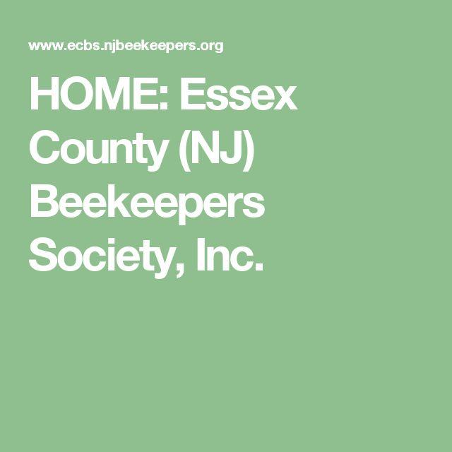 HOME: Essex County (NJ) Beekeepers Society, Inc.