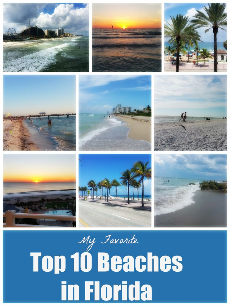 My favorite top 10 beaches in florida united states of for Best beach vacations usa