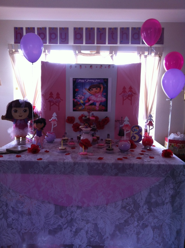 51 best aDORAble images on Pinterest Birthdays Dora the