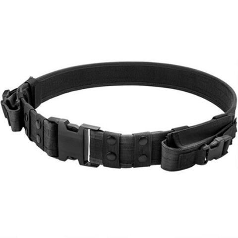 "Barska Loaded Gear CX-600 Tactical Belt 2"" Width Fits Up To 44"" Waist Black BI12254 - 790272000241"