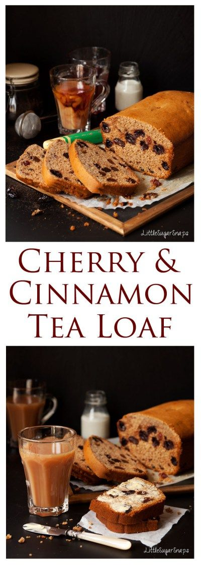 Richly fruited, lip-smackingly tangy and delightfully light. This Cinnamon Cherry Tea Bread needs no fancy adornments. It's easy to make and is sure to please even the choosiest of cake connoisseurs.